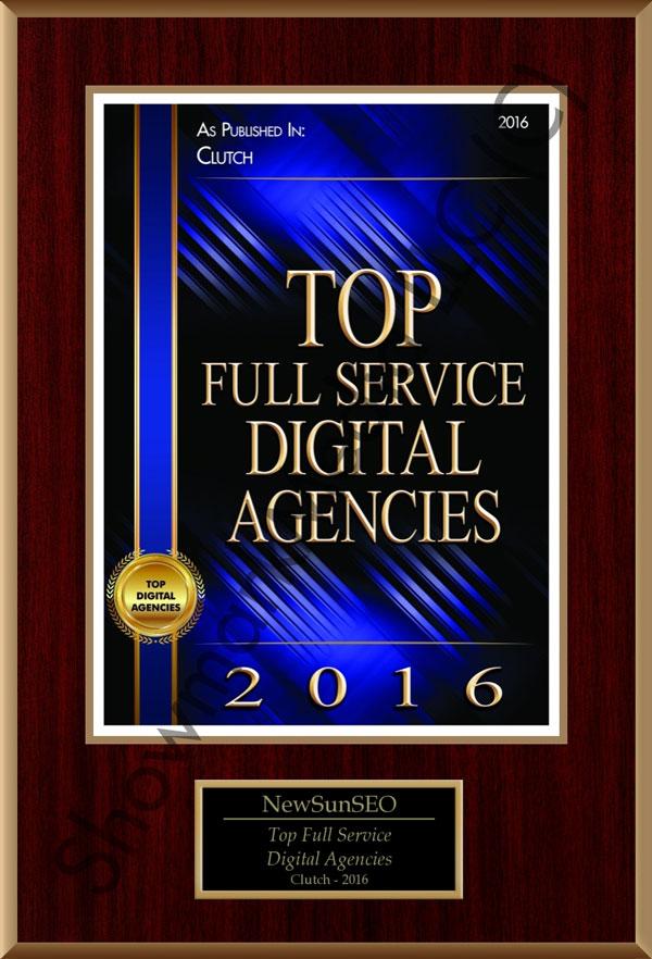 Top Full Service Digital Agencies 2016