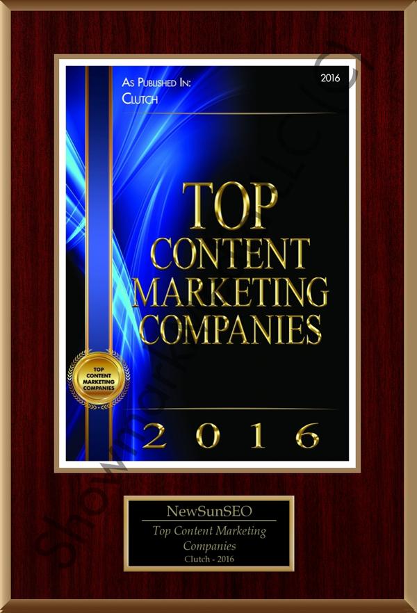 Top Content Marketing Companies 2016