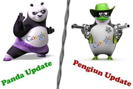 Google Panda Google Penguin Updates