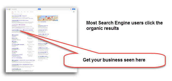 Most Search Engine Users Click Organic Results