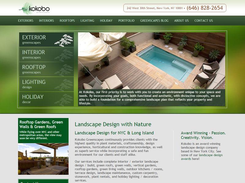Kokobo Greenscapoes - A Blondies Treehouse Company