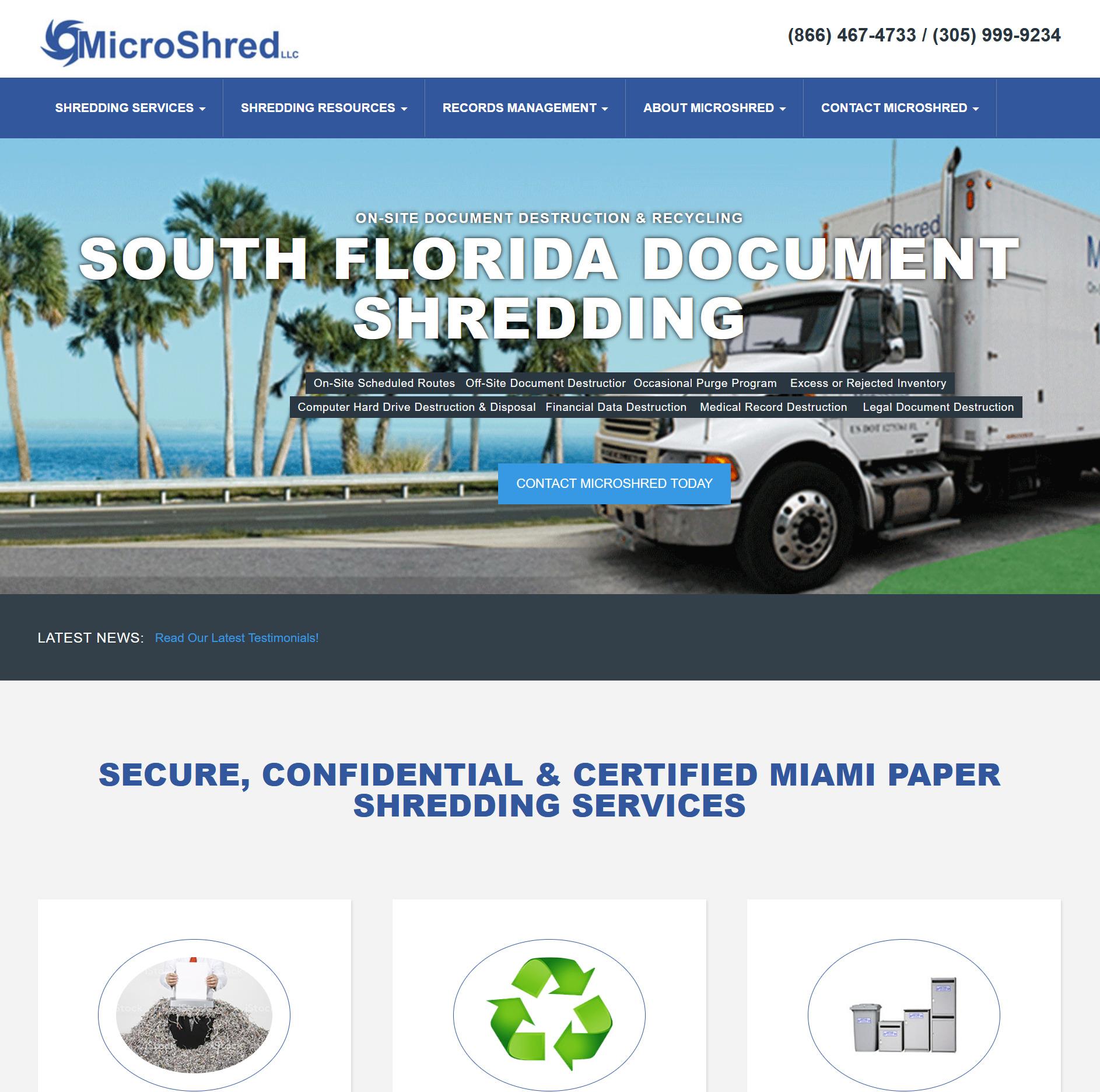 MicroShred Miami