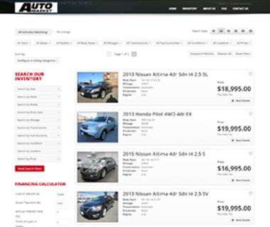 Web Development Auto Market of Long Island, NY